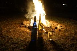 ognisko alkohol