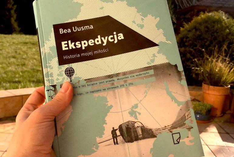 """""""Ekspedycja. Historia mojej miłości"""", czyli o przypadkach, przeznaczeniu i wspaniałej literaturze."""